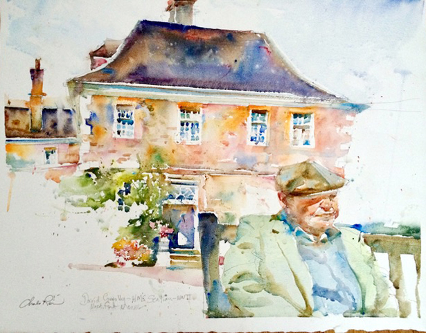 Second World War Veteran in the Cotswolds